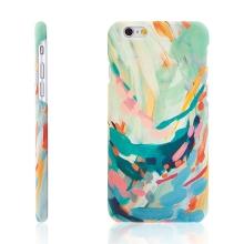 Kryt pro Apple iPhone 6 / 6S - plastový - abstraktní umění