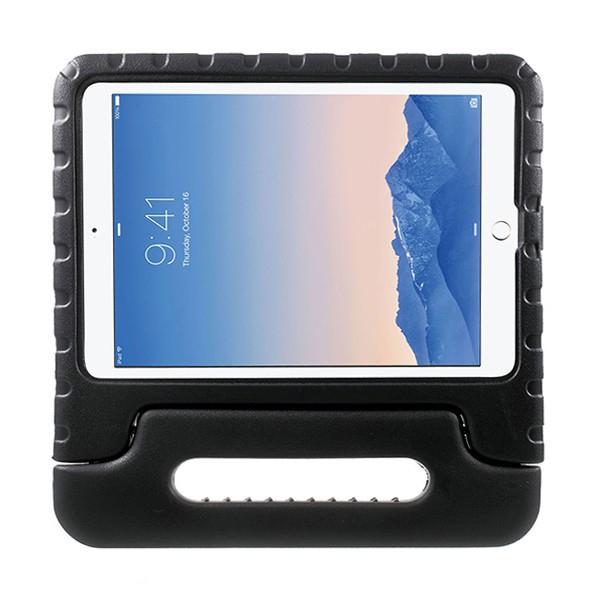 Ochranné pěnové pouzdro pro děti na Apple iPad Air 2 s rukojetí / stojánkem - černé
