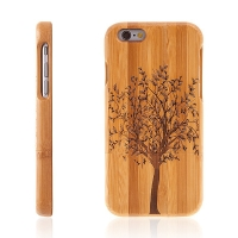Kryt pro Apple iPhone 6 / 6S dřevěný - strom