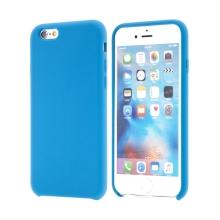Kryt pro Apple iPhone 6 / 6S - gumový - příjemný na dotek - modrý
