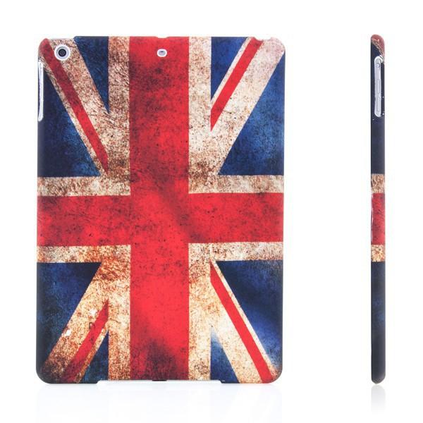 Ochranný plastový kryt pro Apple iPad Air 1.gen. - retro vlajka GB