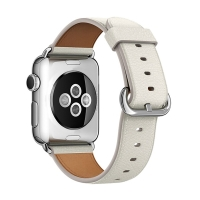 Řemínek pro Apple Watch 44mm Series 4 / 42mm 1 2 3 - kožený