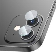 Tvrzené sklo (Tempered Glass) BASEUS pro Apple iPhone 12 mini / 12 - na čočku zadní kamery - 0,1mm
