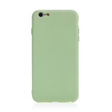 Kryt pro Apple iPhone 6 Plus / 6S Plus - příjemný na dotek - silikonový - zelený