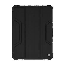 """Pouzdro NILLKIN pro Apple iPad 10,2"""" (2019-2020) - outdoor / odolné - polykarbonátová záda - černé / průhledné"""