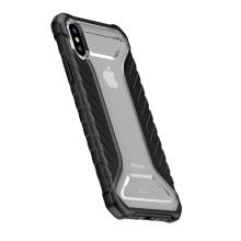 Kryt BASEUS pro Apple iPhone X - ultratenký - gumový
