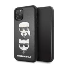 Kryt KARL LAGERFELD pro Apple iPhone 11 Pro Max - umělá kůže