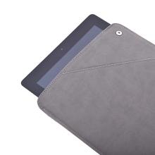 Ochranné pouzdro a stojánek v jednom pro Apple iPad 2. / 3. / 4.gen. - semišové - šedé