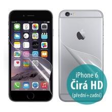 Ochranná fólie pro Apple iPhone 6 / 6S - čirá HD - přední a zadní