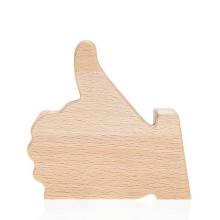 Dřevěný stojánek pro smartphone FACEBOOK LIKE