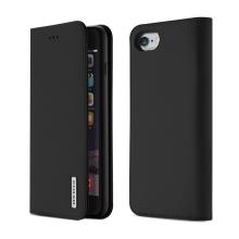 Pouzdro DUX DUCIS Wish pro Apple iPhone 6 Plus / 6S Plus - kožené - černé