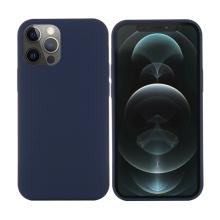 Kryt pro Apple iPhone 12 Pro Max - Magsafe - silikonový - tmavě modrý