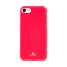 Kryt MERCURY Jelly pro Apple iPhone 7 / 8 / SE (2020) - gumový - tmavě růžový
