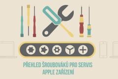 Přehled šroubováků pro servis Apple zařízení