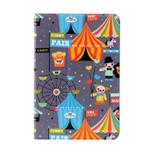 Pouzdro LOFTER pro Apple iPad mini/ mini 2 / mini 3 - 360° otočný stojánek a funkce chytrého uspání - cirkus