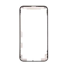 Plastový rámeček předního panelu pro Apple iPhone 11 Pro - černý - kvalita A+