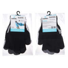 Rukavice HAWEEL pro ovládání dotykových zařízení - dětské (16cm) - černé