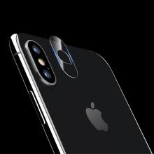 Tvrzené sklo (Tempered Glass) USAMS na čočku zadní kamery pro Apple iPhone X - 2 kusy v balení - 0,15mm