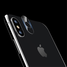 Tvrzené sklo (Tempered Glass) USAMS na čočku zadní kamery pro Apple iPhone X / Xs - 2 kusy v balení - 0,15mm