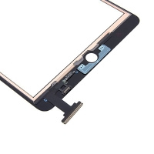 Přední dotykové sklo (touch screen) pro Apple iPad mini / mini 2 (Retina) bez IC konektoru - černé