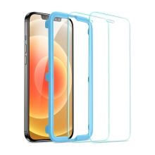 Tvrzené sklo (Tempered Glass) ESR pro Apple iPhone 12 / 12 Pro - přední - 2,5D - čiré - 0,3mm - 2 kusy