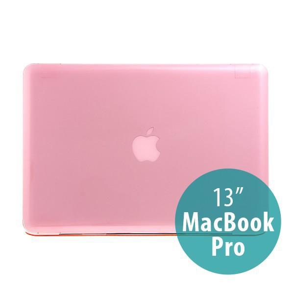 Tenký ochranný plastový obal pro Apple MacBook Pro 13 (model A1278) - lesklý - růžový