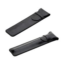 Obal / pouzdro pro Apple Pencil - umělá kůže / hladký / lesklý - černý