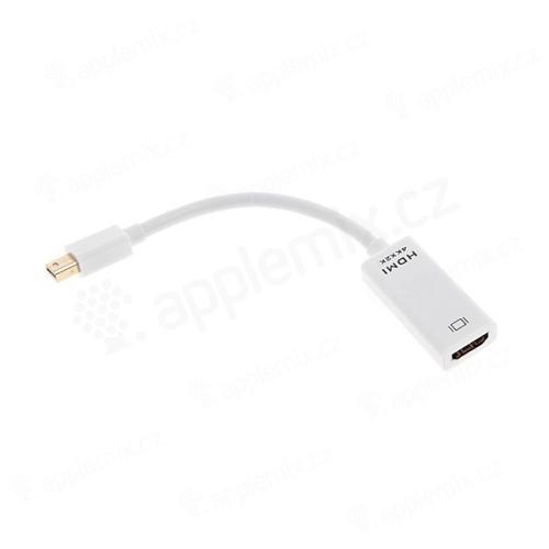4K x 2K redukce Mini Displayport (Thunderbolt) na HDMI Female - bílá
