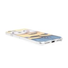 Kryt MIMONI pro Apple iPhone 7 / 8 - smějící se mimoň - žlutý