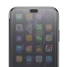 Pouzdro BASEUS pro Apple iPhone Xs Max - průsvitné - plastové / gumové - šedé