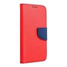 Pouzdro pro Apple iPhone 12 Pro Max - stojánek - umělá kůže - červené