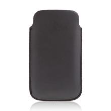 Pouzdro z koženky pro Apple iPhone a podobná zařízení - černé?
