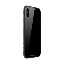 Kryt SULADA pro Apple iPhone X - kov / sklo