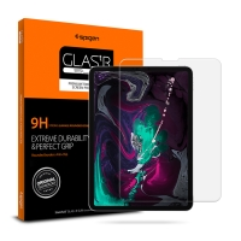 """Tvrzené sklo (Tempered Glass) SPIGEN pro Apple iPad Pro 11"""" (2018) - na přední část"""