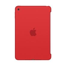 Originální kryt pro Apple iPad mini 4 - výřez pro Smart Cover - silikonový - červený