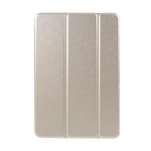 Pouzdro pro Apple iPad mini 1 / 2 / 3 - stojánek + chytré uspání - umělá kůže - zlaté