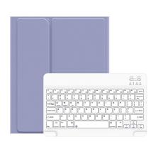 """Klávesnice USAMS Bluetooth odnímatelná + kryt / pouzdro pro Apple iPad 10,2"""" - modrá / bílá"""