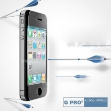 Super odolné tvrzené sklo Wriol G Pro Series (Tempered Glass) na přední část Apple iPhone 4 / 4S včetně zadní fólie
