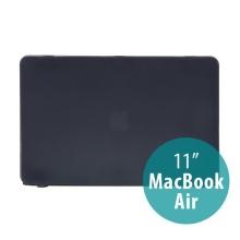 Tenký ochranný plastový obal pro Apple MacBook Air 11.6 - matný - černý