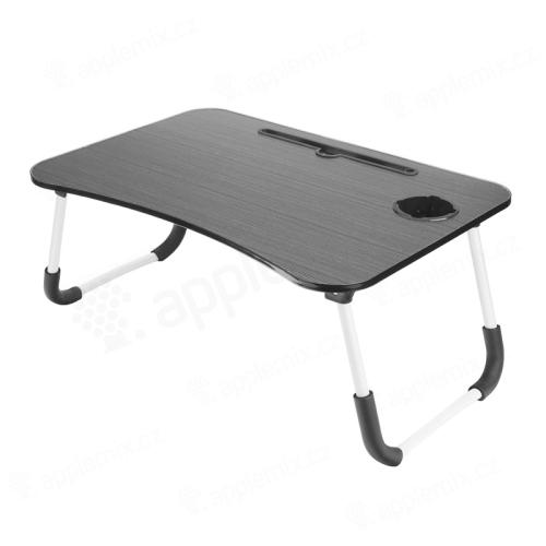 Stolek / podložka pod Apple MacBook + držák pro iPad + držák nápoje - LTD lamino