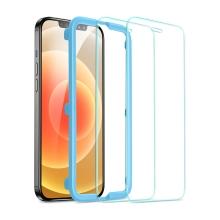 Tvrzené sklo (Tempered Glass) ESR pro Apple iPhone 12  mini - přední - 2,5D - čiré - 0,3mm - 2 kusy