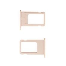 Rámeček / šuplík na Nano SIM pro Apple iPhone 6 - zlatý (gold) - kvalita A+