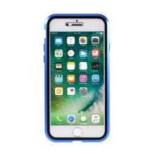 Kryt pro Apple iPhone 7 / 8 / SE (2020) - 360° ochrana - magnetický - skleněný / kovový - černý / modrý