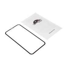 Tvrzené sklo (Tempered Glass) RURIHAI pro Apple iPhone Xr - na přední stranu - černý rámeček - 3D - 0,3mm