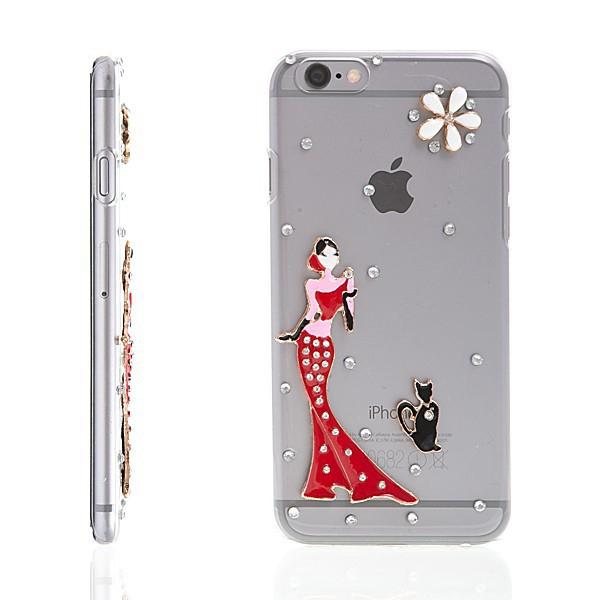 Plastový kryt pro Apple iPhone 6 - 3D motiv - průhledný