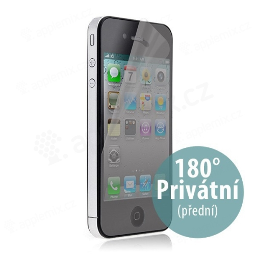 Ochranná folie ScreenGuard 180 privacy Anti-Glare pro iPhone 4 / 4S