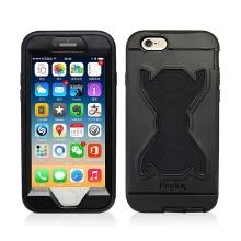 Pouzdro pro Apple iPhone 6 / 6S - outdoor - plastové / silikonové - černé