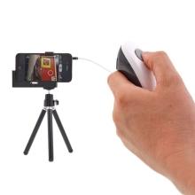 Kabelová dálková spoušť fotoaparátu Apple iPhone / iPad - černobílá