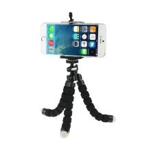 Univerzální flexibilní stativ + držák pro Apple iPhone a další zařízení šíře 5,5-8cm - černý