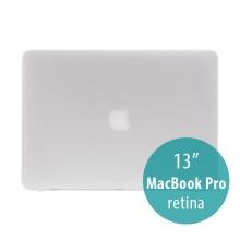 Obal / kryt pro Apple MacBook Pro 13 Retina (model A1425, A1502) - tenký - plastový - matný - bílý